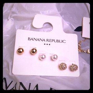 Classic 3pack stud earrings